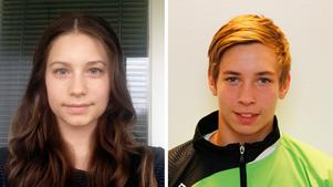 Rö-anfallarna Elin Fröjd och Jerry Tollbring.
