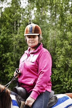 Marie Agerbrink har varit ledare för ridturerna i tjugo år.