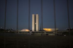 Kongresshuset i Brasilia.