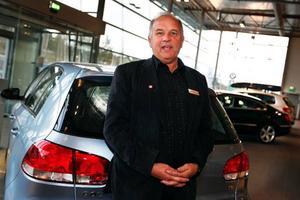 Bilar går fortfarande att sälja enligt Stig-Olof Olofsson på Berners. Foto: Anna-Karin Pernevill