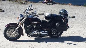 På fredagen hittas den stulna motorcykeln.