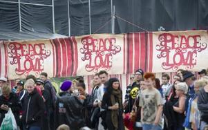 Peace and love foundation har fått 100 000 kronor av Region Dalarna. Foto: FREDRIK SANDBERG / TT