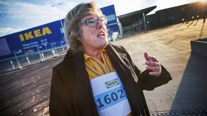 Mari Gustafsson, varuhuschef på Ikea i Umeå.