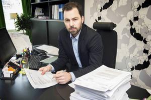 Advokat Jonas Vedin.