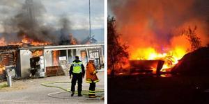 Polisen utreder nu om det finns ett samband mellan bränderna i Fellingsbro och i Nora.