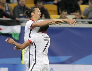Zlatan Ibrahimovic gjorde två mål mot Bastia. ARKIVBILD.