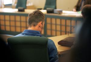 Tobias Jardeberg i tingsrätten för några år sedan.