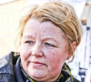 Mari Löf, 50 år, restaurangarbetare, Söderhamn.- Jag hade inte vetat om att den var. Det är väl allmänt att tänka på kvinnofrågor, något man gör hela året.