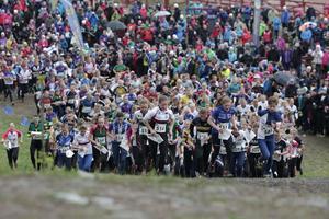 320 lag kom till start i årets damkavle i Tiomila. Och det blev en dramatisk tävling på Lugnet i Falun.