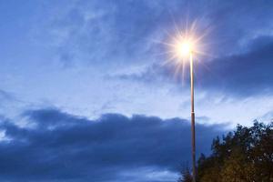 Kvällsljus över Lillhärdal.