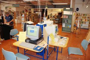 Fiber. Kulturhuset får snart fiberuppkoppling för datakommunikation. Det nya systemet ger bättre kapacitet, jämfört med den gamla koppartråd-uppkopplingen.