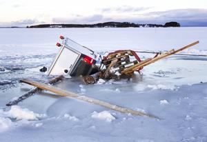 Färjerederiet varnar allmänheten för öppet vatten på Håkanstaleden.
