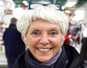 Eva Astby, 64 år, sjukpensionär,  Sundsvall:– Ja, jag tycker absolut att briggen Gerda ska stanna kvar i Gävle. Själv har jag inte sett Gerda på flera år, men min morfar hade något med Gerda att göra.