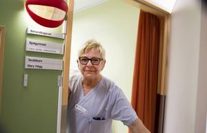 Tal- och sväljcenter är en del av Öron-näsa-halsmottagningen vid Hudiksvalls sjukhus. Mary Hägg är verksamhetsansvarig.