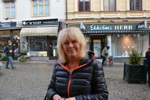 Christina Hammar, Örnsköldsvik:– Att de har infört halloween.