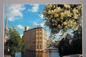 Östergötland, eller närmare bestämt i Norrköping ligger Strykjärnet som är ett industrimuseum. Ingela fotade.