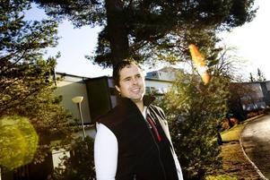 involverad i ett hälsoprojekt. Läraren Joe Thunman tror att det bara rör sig om ett fåtal elever på skolan som röker hasch.Foto: David Holmqvist