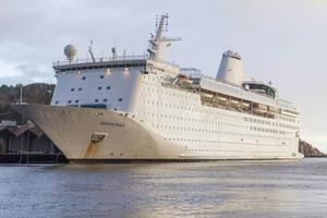 Ocean Gala som är placerad i Utansjö hamn