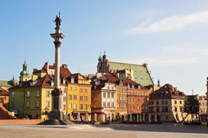 Warszawa är en av vårens mest prisvärda städer.