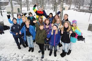 Lindgårdsskolans femteklassare har gått vidare till kvartsfinal i Vi i femman.