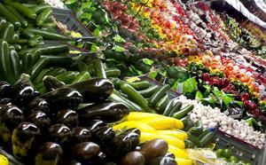 Nyttigt men dyrt att handla frukt och grönt.