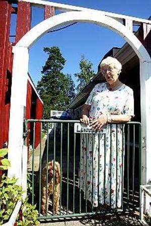 Foto: GUN WIGH Tillsammans. Siw Lindström är glad för att hon och maken Per-Erik tillbringade hans sista tid hemma.