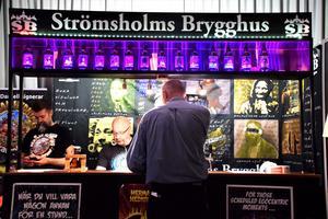 Även en handfull lokala bryggerier var på plats.
