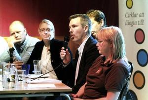 Lars Eldh, rådgivare för nyföretagare, efterlyste större möjligheter för företagare att sälja sina tjänster inom vård och omsorg.