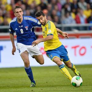 Jimmy Durmaz får chansen från start i kvällens landskamp mot Norge.