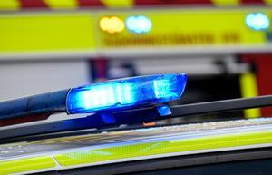En man anhölls under söndagen misstänkt för att ha misshandlat en kvinna. Foto: Johan Nilsson