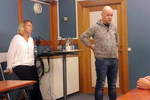 Madeleine Tügel och Patrik Axelsson höll en uppskattad föreläsning i Borlänge.