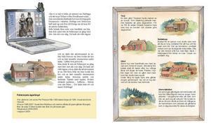 Jens Ahlbom har illustrerat Pelle och världsarvet.
