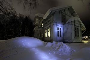 Maribel Narvaez tog suggestiva vinterbilder med inslag av mystiskt ljus.