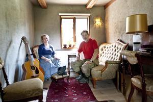 Marjo Marthin och Lars Erik