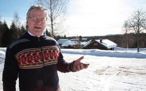 – Tolvåsspåret har stort reklamvärde och lockar många besökare till Rättvik. Bara en öppen dialog kan rädda spåret, säger Per Mårthans. MATS RÖNNBLAD