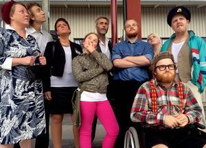 På torsdag är det premiär för Ånge köpcentrum, en komisk och satirisk föreställning om Ånges framtid.