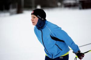 Stina Fransson var en av de mer rutinerade deltagarna. Hon har nio Vasalopp bakom sig och två Öppet spår.– Jag är här för att förbättra min teknik och åka snabbare. Lägret har varit bra och jag har fått en massa nya saker att tänka på.