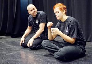 Johan Kangas och Sabine Dahlberg.