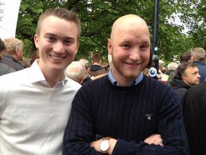 Fredrik Stengarn och Martin Ruist från Örebros enda PR-byråFourPR besöker i Almedalen för tredje året.