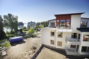 Nu återstår inte mycket innan lägenheterna på Sundsåker är klara att flytta in i.