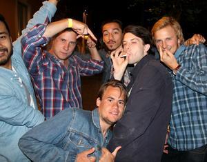 Quang, August, Alexi, Felix, Filip, Daniel.