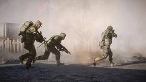 Det här är vad svenska spelare gillar. Krig. Listan över de 20 mest sålda spelen 2010 är till övervägande del krigs- och actionspel.               Här Battlefield Bad Company 2.