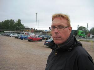 Tomas Kärnström, ordförande för IF Metall på SMT, vill gärna att Sandvik fortsätter att vara decentraliserat under en ny vd. Foto: Arbetarbladet.