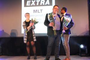 Priset till Årets marknadsförare gick till företaget MLT.